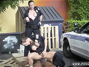 white cop interracial I will catch any perp with a humungous ebony man sausage, and deep-throat it.