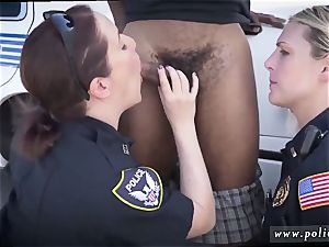 ash-blonde milf unshaved vag and cop agent We are the Law my niggas, and the law needs