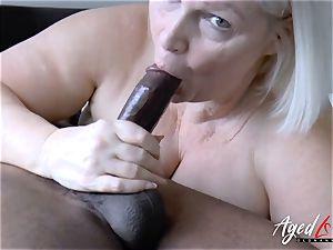 AgedLovE Lacey Starr hard-core multiracial poke