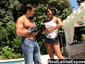 RealLatinaExposed insatiable Latina Vanessa