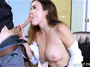 sloppy office babe Dillion Harper gets shafted at work