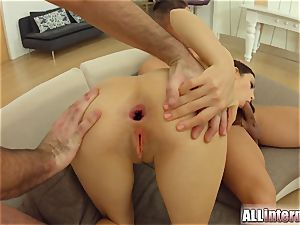 AllInternal double anal invasion with anal invasion creampie