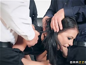 Adriana Chechik double intrusion