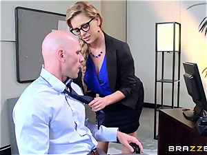 Cherie Deville sacks people the best way she can