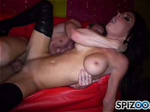 mind-blowing stripper Jessica Jaymes rides her client firm