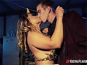 Danny D uses his shaft to bait a succubus